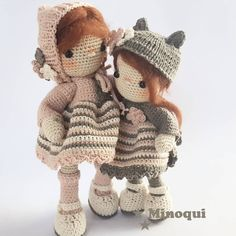 . . . . . . . . . . . . #minoqui #regalosoriginales #yarn #crochet #ganchillo #amigurumi #doll #katia #artdolls #handmade #toy #madeinspain #hechoamano #häkeln #designer #creative #photo #baby #lovely #exclusive #original #collecting #xmas #artist #photooftheday #amigurumidoll #crochetadicct #örgü #Cádiz #dollmaker