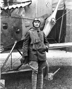 Aviatik D.I Fighter Pilot, Fighter Jets, Aviation Theme, Air Ride, Vintage Airplanes, World War I, Military Aircraft, Wwii, Photograph Album