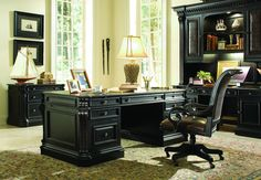 Shop For Hooker Furniture Telluride Executive Desk W/Wood Panels, And Other Home  Office Desks Furniture.