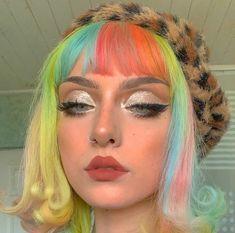 Dye My Hair, New Hair, Hair Dye Colors, Hair Color, Pretty Hairstyles, Wig Hairstyles, Cute Makeup, Hair Makeup, Hair Inspo