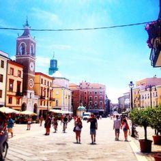 Piazza tre martiri centro storico di Rimini | MyTurismoER: Rimini attraverso lo sguardo fotografico di @reetacelli