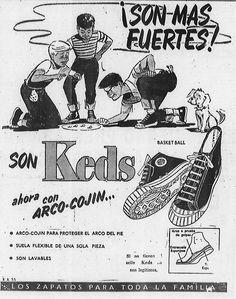 Zapatos Keds. Publicado el 4 de septiembre de 1953.