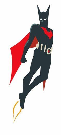 Batman Beyond by Cory Walker Nightwing, Batgirl, Catwoman, Im Batman, Batman Art, Batman Stuff, Comic Books Art, Comic Art, Book Art