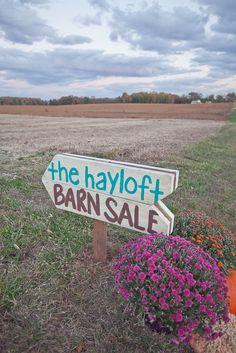 My First Barn Sale