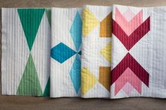 Learn to make a Sugarplum table runner with holiday blocks in this quilt-along from Faith Jones of Fresh Lemons Quilts.
