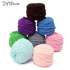 Lowest Price 100g Kids woolen yarn Soft Warm Wool Yarn for Knitting Scarf Sweater Mix Color Wool yarn Baby Yarn For Knitting