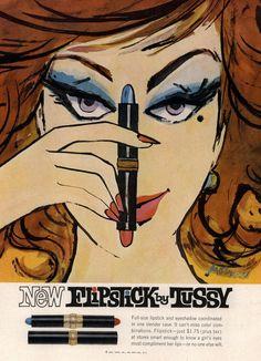 Tussy Flipstick 1962
