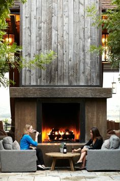 3 Refreshing Tips: Fireplace Candles Decor fireplace hearth awesome.Tall Rock Fireplace classic fireplace and tv.Farmhouse Fireplace And Tv. Outdoor Rooms, Outdoor Living, Outdoor Decor, Rustic Outdoor, Outdoor Kitchens, Rustic Fireplaces, Outdoor Fireplaces, Modern Outdoor Fireplace, Casa Patio