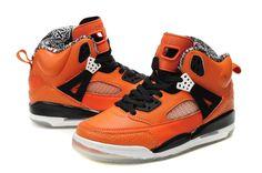 purchase cheap 11752 5354d CUSU 2014 Homme Chaussure Air Jordan Spizike 3.5 Noir Orange 661328 Jordan  2012, Air Jordan