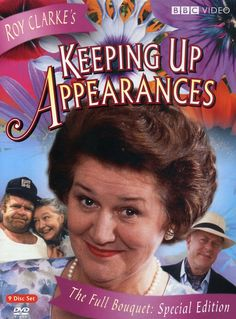 Keeping Up Appearances - BBC TV series - stars Patricia Routledge, Clive Swift
