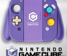 Someone gave their Joy-Con controller and grip a custom GameCube paint job! Atari Video Games, Computer Video Games, Pc Or Console, Gamecube Controller, Nintendo Systems, Nintendo Switch Accessories, Nintendo Switch Games, Nintendo Consoles, Games Consoles