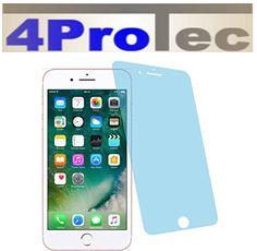 2 Stück HARTBESCHICHTETE KRISTALLKLARE Displayschutzfolie für iPhone 7 Bildschirmschutzfolie - http://besteckkaufen.com/4protec/iphone-7-2x-entspiegelnde-displayschutzfolie-2