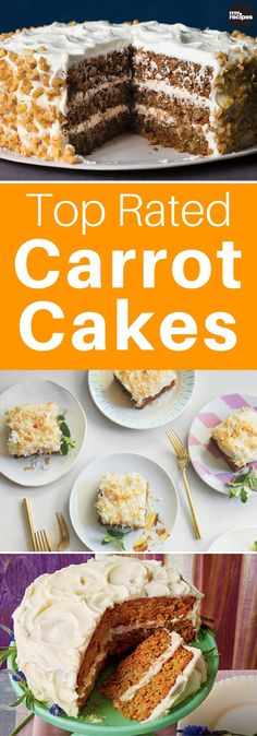 From fancy layer cakes to simple sheet cakes and muffins, we've got the best carrot cake recipes for any occasion. | MyRecipes