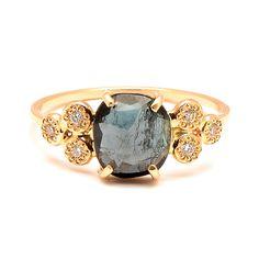 A jaw-dropping blue tourmaline ring.
