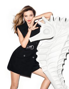 visual optimism; fashion editorials, shows, campaigns & more!: miranda kerr by terry richardson for harper's bazaar china august 2014