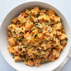 Sweet Potato Salad with Buttermilk Dressing  - Delish.com