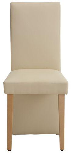 Details:  Gestell aus Massiv-Holz, Sitz und Rücken gepolstert, Sitz gepolstert, Rücken gepolstert, Pflegeleichtes Leder, Sitzhöhe ca. 49,5 cm, In verschiedenen Farben, Zeitloses Design, FSC®-zertifizierter Holzwerkstoff, FSC®-zertifiziertes Massivholz, Das Holz ist lackiert., Belastbarkeit 120 kg,  Maße:  Alles ca.-Maße,  Informationen zu Lieferumfang und Montage:  Selbstmontage mit Aufbauanlei...