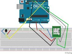 Arduino temperature logger which saves data on SD card and sends it to Ubidots IOT application