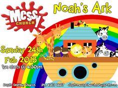 "Messy Church ""Noah's Ark"" at Dapto Uniting    http://daptomessychurch.blogspot.com.au/"