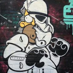 Homer Trooper - Street Art