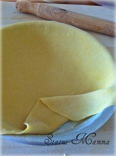 Pasta sfoglia per torte salate Soul Food, Baby Food Recipes, Italian Recipes, Buffet, Deserts, Pudding, Bread, Fruit, Cooking