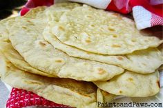 Quick and Easy Homemade Tortillas