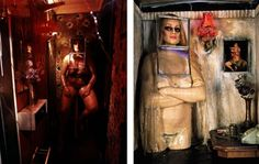 The Hoerengracht, an installation artwork by American artists Ed and Nancy Kienholz