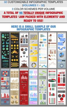 Infographic Template Collection - One Trade Store