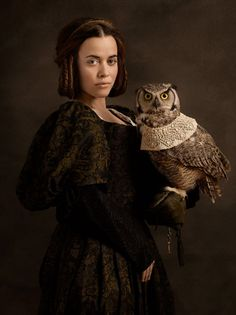 Johanna. Photographer Sacha Goldberger, inspired by Flemish painting.