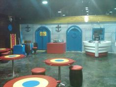 There's currently a real life version of the Krusty Krab restaurant (from Spongebob Squarepants) being constructed in Ramallah. You can check out more pix including the menu below.