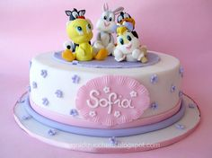 Baby Looney Tunes cake | by Sogni di Zucchero