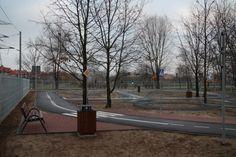 Zbudowano miasteczko, w którym można doskonalić jazdę na rowerze, a także edukację w kwestiach przepisów ruchu drogowego i bezpieczeństwa na drodze. Miasteczko jest otwarte przez cały rok w ciągu dnia i każdy kto tylko posiada rower lub inny pojazd o napędzie nożnym (np. gokart lub hulajnogę) może z niego skorzystać.