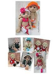 Crochet Doll & Toy Downloads - So Cute Baby Doll Clothes & Accessories. Not free