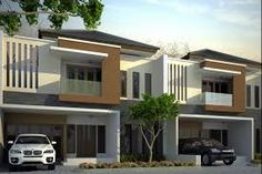 Hasil gambar untuk prabanata village Town House, Mansions, Coffee, House Styles, Outdoor Decor, Home Decor, Houses, Kaffee, Decoration Home
