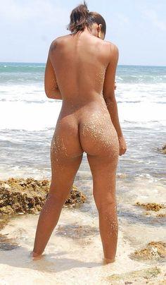 Dipping nude beach skinny
