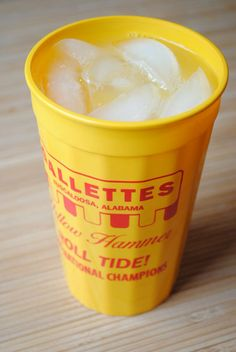 Yellow Hammer recipe- This famous Tuscaloosa, AL cocktail is a staple for all Tide fans young and old. Visit #Gallettes for a taste or make your own here!  Rammer Jammer Yellow Hammer Give 'Em HELL, Alabama!