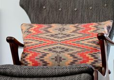 Hand-printed Cotton Pillows by Lawson-Fenning $75