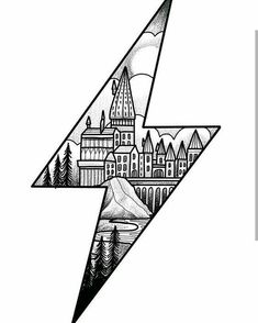 Harry Potter lightening bolt design ready for the new year. Please email if interested. A deposit will secure the drawing.… Harry Potter lightening bolt design ready for the new year. Please email if interested. A deposit will secure the drawing. Harry Potter Tattoos, Art Harry Potter, Harry Potter Drawings, Harry Potter Sketch, Harry Potter Tumblr, Art Drawings Sketches, Tattoo Sketches, Easy Drawings, Tattoo Drawings