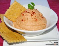 Hummus de tomates deshidratados. gastronomiaycia.com
