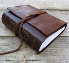 Leather journal with Sherlock Holmes quote, inspiration journal / sketchbook,  by moon and hare by MoonAndHare on Etsy