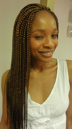 Step by step guide to designing Single box braids Natural Hair Box Braids, Brown Box Braids, Natural Hair Styles, Single Braids Hairstyles, African Braids Hairstyles, Black Hairstyles, Girl Hairstyles, African Braids Styles, Braid Styles