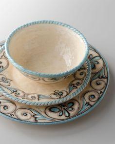 "Caff Ceramiche ""Dione"" Dinnerware - Horchow"