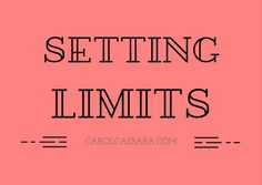 How to set limits