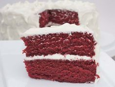 The best. The best. The BEST red velvet cake recipe I have ever come across. Absolutely moist, decadent, flavorful, delicious