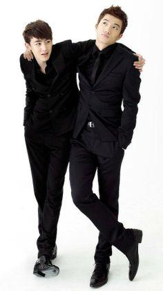 2PM Nichkhun Wooyoung KhunWoo