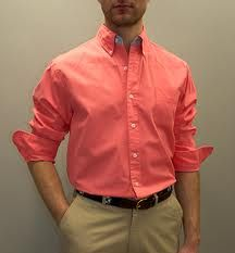 Coral Color Shirts For Mens | Is Shirt