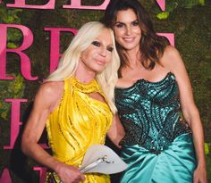 """Donatella Versace on Instagram: """"Thank you so much Cindy for presenting this award to me tonight.  I'm honored and proud to be among so many incredible people tonight…"""" Donatella Versace, Prom Dresses, Formal Dresses, Awards, The Incredibles, People, Instagram, Fashion, Dresses For Formal"""