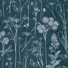 Floral Wallpaper Botanical Blackboard Muriva 601549 - http://www.muriva.com/portfolios/floral-wallpaper-botanical-blackboard-muriva-601549/