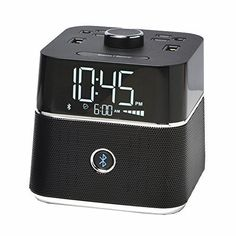 We all want to buy a multi-purpose device such as digital alarm clock with Bluetooth speaker etc. Some best Bluetooth speakers with alarm clocks are. Speakers For Sale, Cool Bluetooth Speakers, Audio Speakers, Radio Alarm Clock, Digital Alarm Clock, Simple Alarm Clock, Best Alarm, Projection Alarm Clock, Sound Speaker