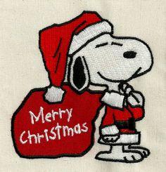 Photo of Snoopy Christmas 041 - Machine Embroidery Design Peanuts Christmas, Christmas Rock, Christmas Cartoons, Charlie Brown Christmas, Charlie Brown And Snoopy, Christmas Crafts, Merry Christmas, Trump Christmas, Xmas